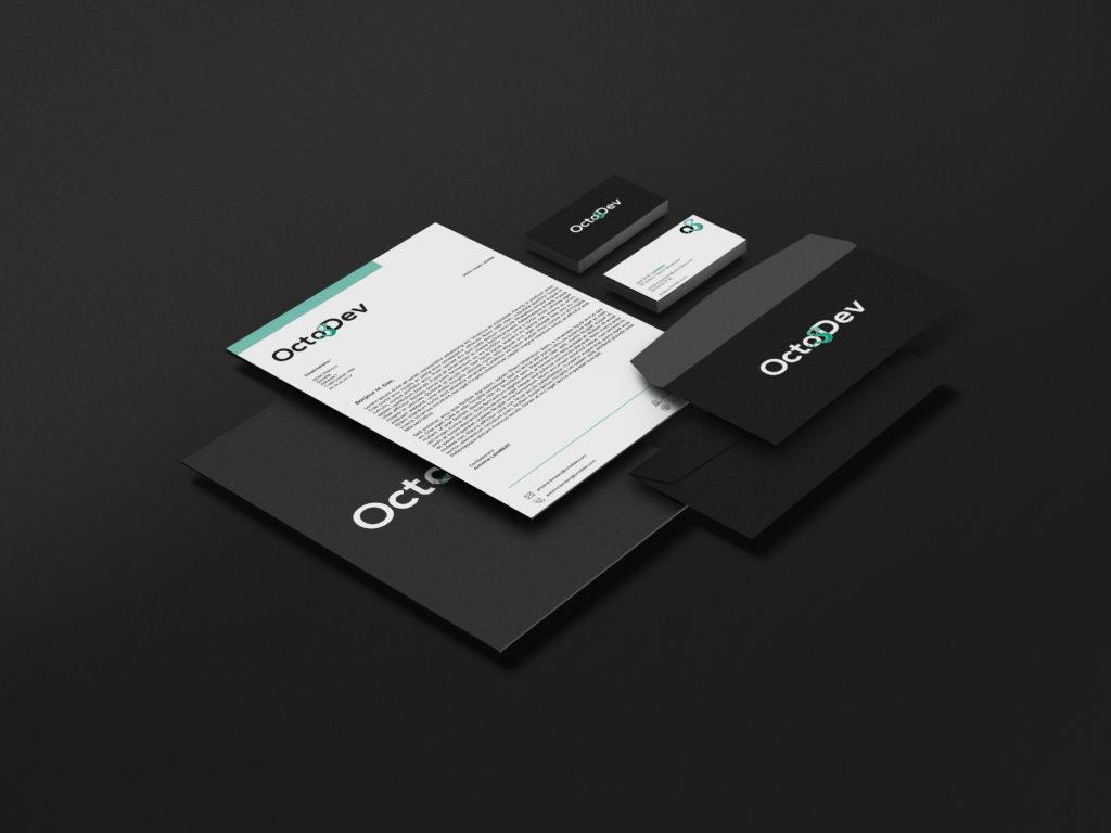 Minim Octo3Dev - Branding
