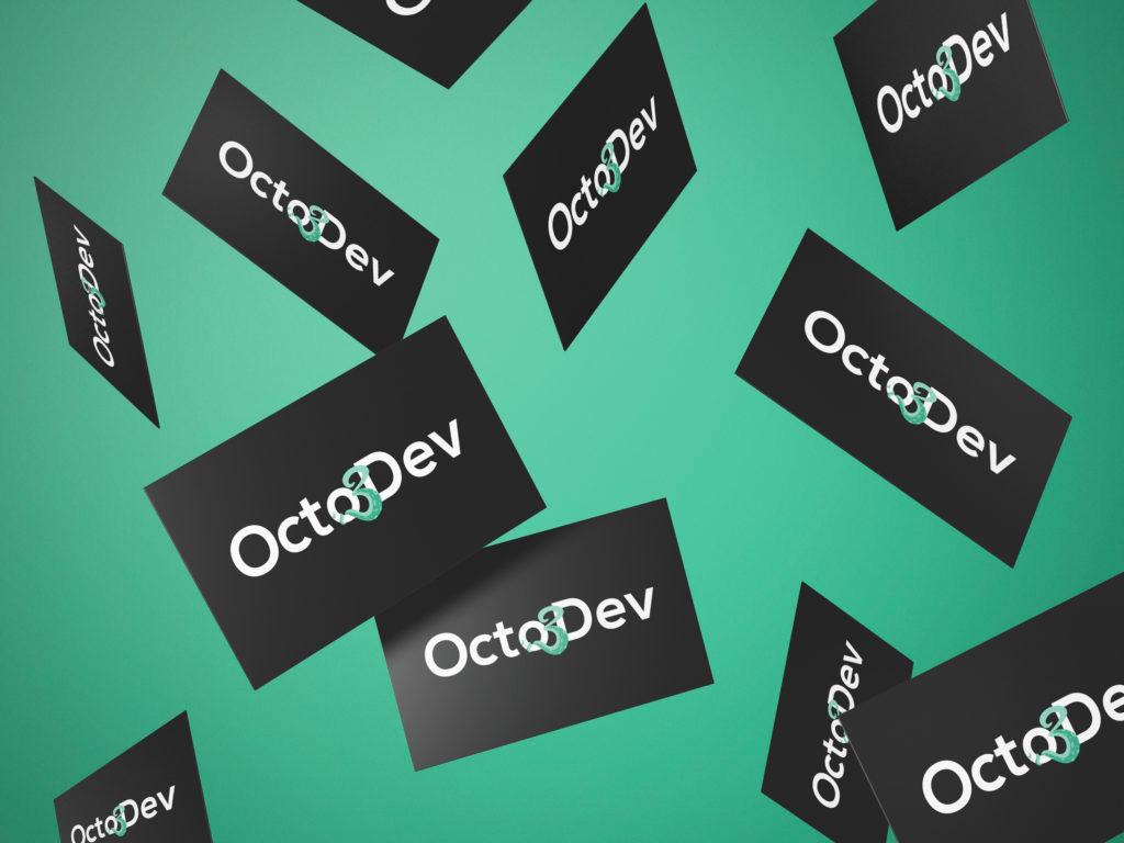 Minim Octo3Dev - Cartes de visite